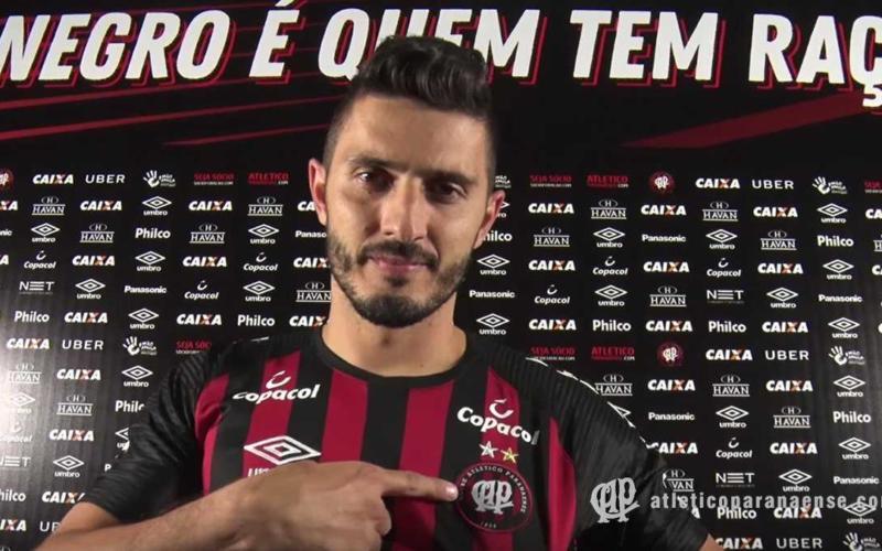 Marquinho Atletico Paranense Twitter