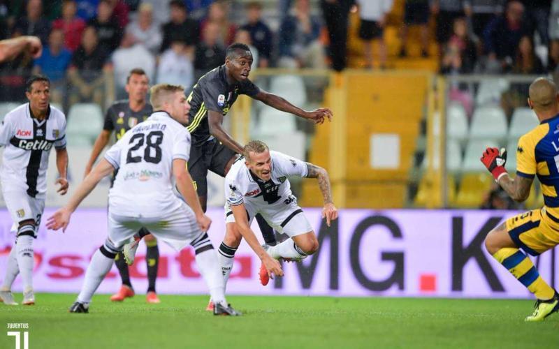 Matuidi vs Parma Juventus Twitter