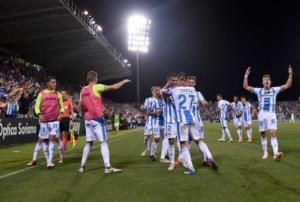Oscar esultanza gruppo vs Barcellona Leganes Twitter