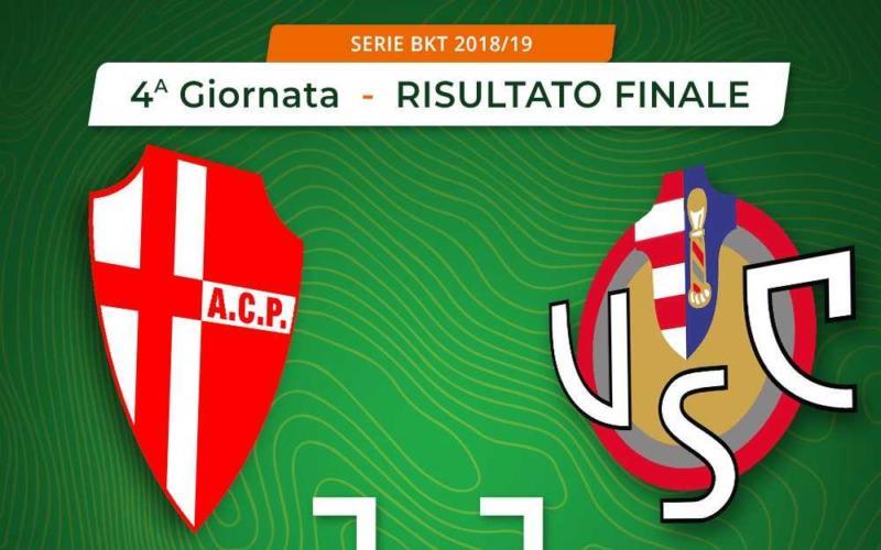 Padova Cremonese 1-1