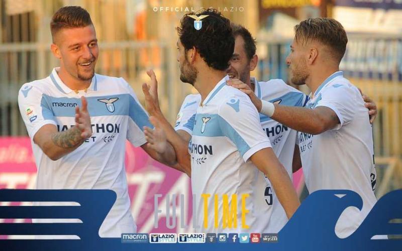 Parolo vs Empoli Foto Lazio Twitter