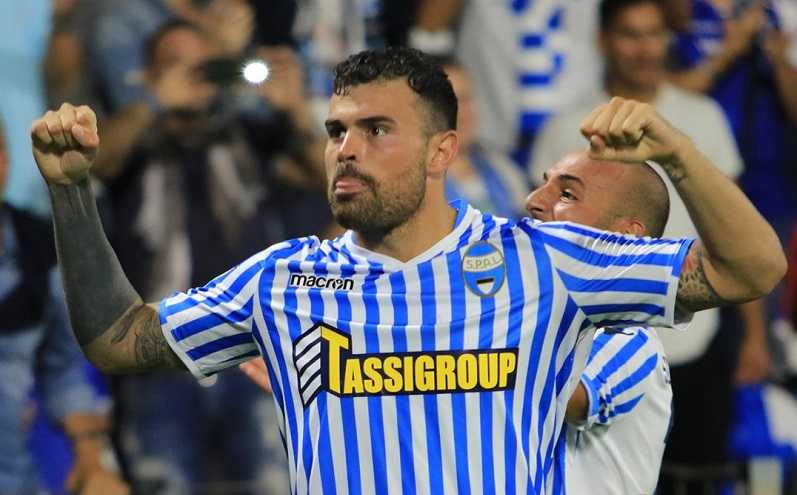 Petagna Twitter ufficiale Spal