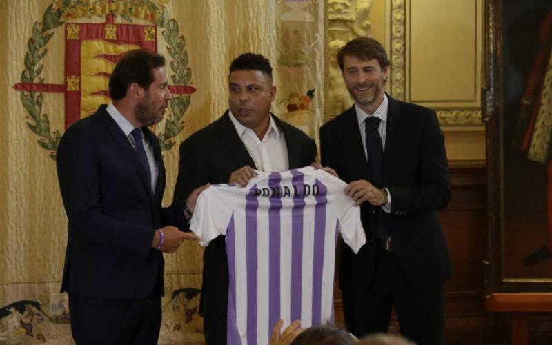 Ronaldo Real Valladolid Twitter