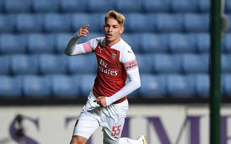 Smith Rowe Twitter uff Arsenal