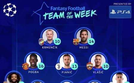 Top 11 prima settimana Champions 2018