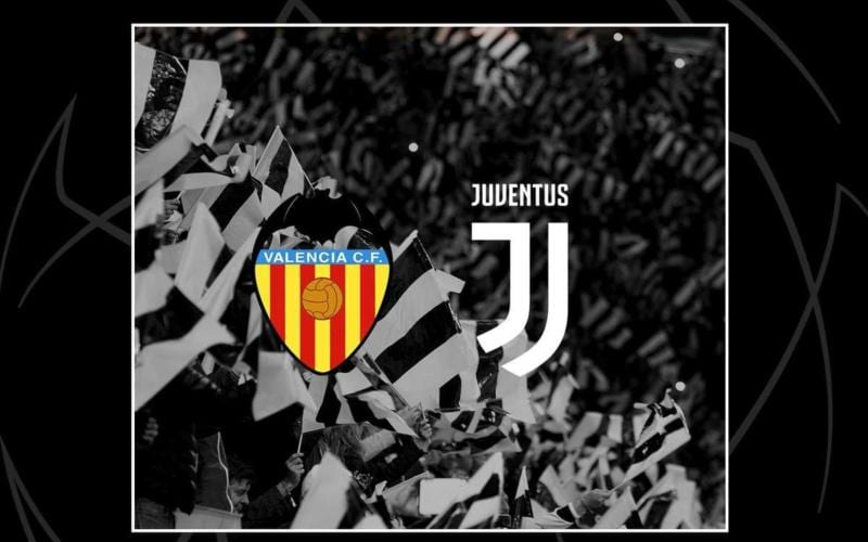 Valencia-Juve Twitter uff Juve