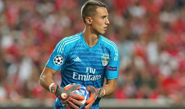 Vlachodimos Benfica Foto Daily Express