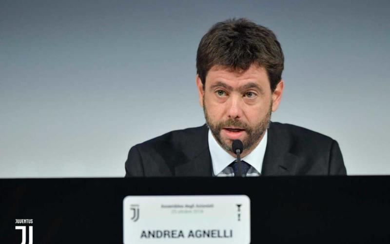 Agnelli Twitter uff Juve