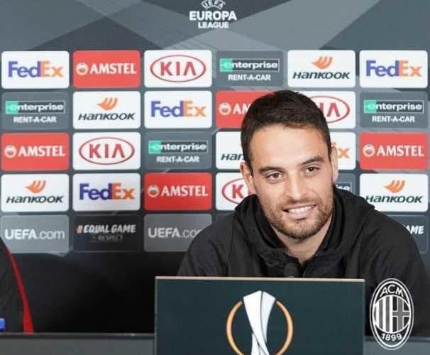Bonaventura conferenza Europa League Milan Twitter