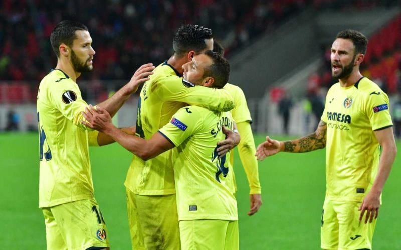 Cazorla Twitter ufficiale Europa League