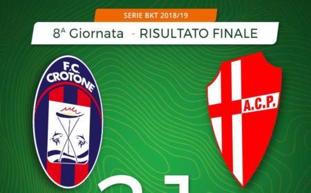 Crotone Padova 2-1