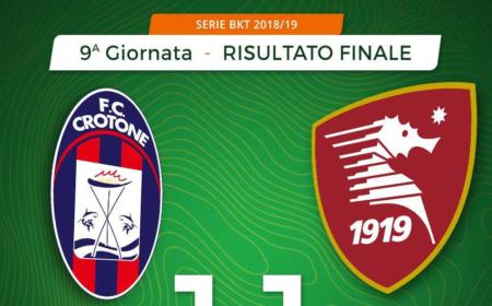 Crotone Salernitana 1-1