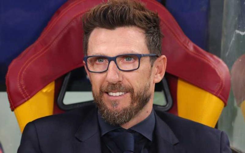 Di Francesco panchina Roma Foto Liverpool Twitter