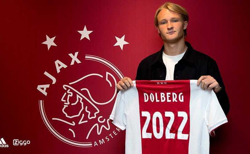 Dolberg Twitter Ajax