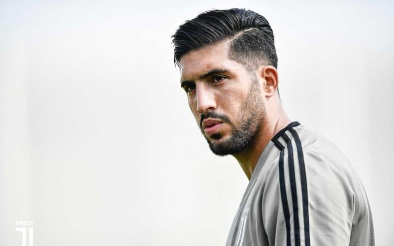 Emre Can training Juventus Twitter