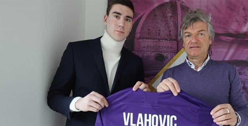 Dusan Vlahovic sito ufficiale Fiorentina