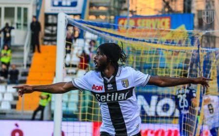 Gervinho esultanza Parma Twitter