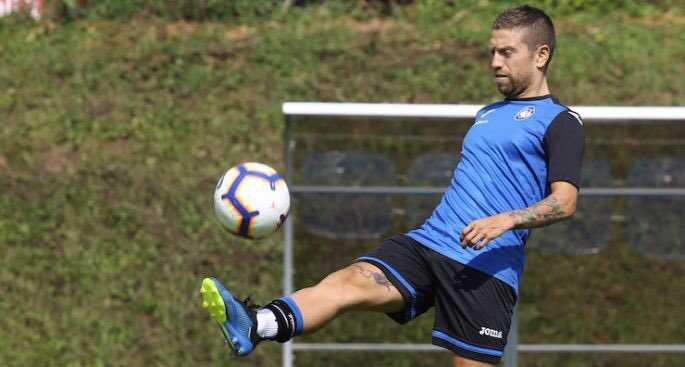 Gomez training Atalanta Twitter