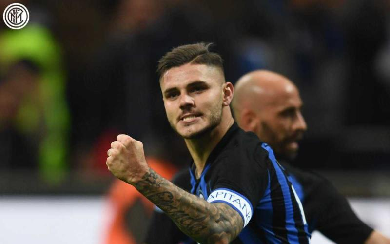 Icardi Twitter uff Inter