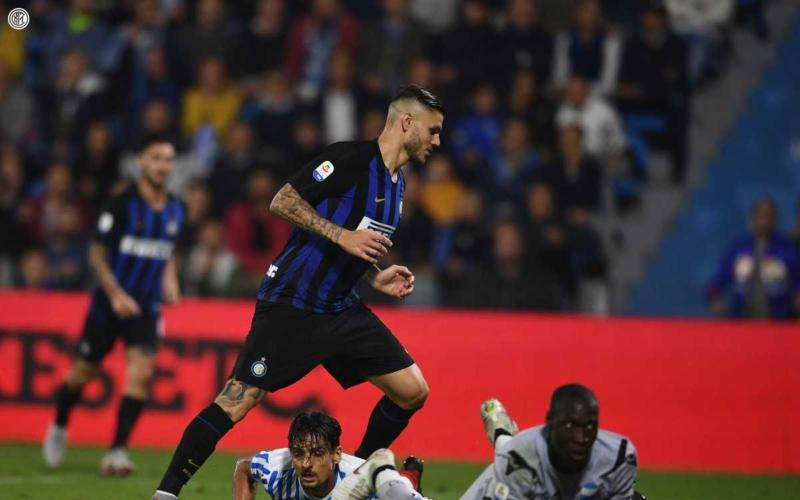 Icardi gol vs Spal Foto Inter Twitter