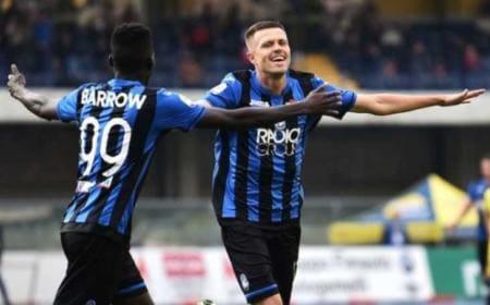Ilicic e Barrow vs Chievo Foto Atalanta sito ufficiale
