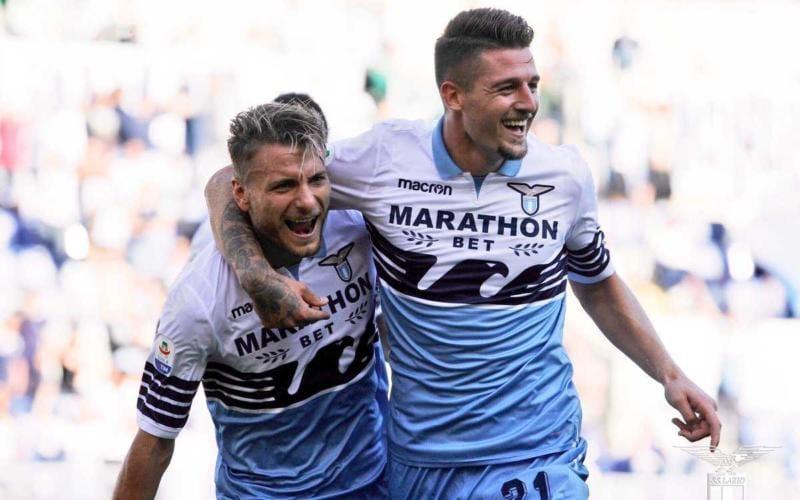 Immobile e Milinkovic-Savic rinnovi Lazio Twitter