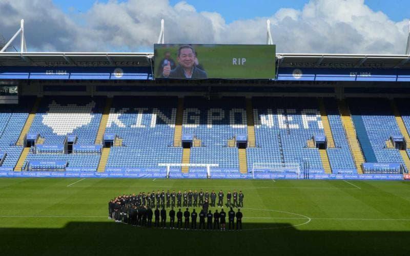 Leicester squadra ricorda presidente Twitter