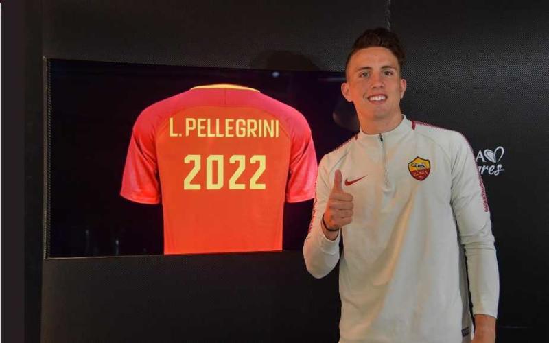 Luca Pellegrini Twitter Roma