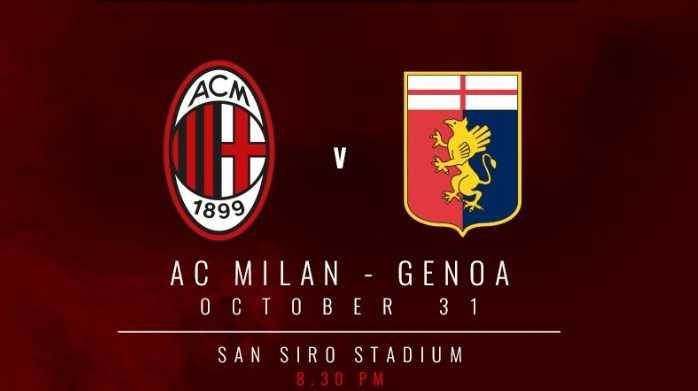 Milan Genoa logo match