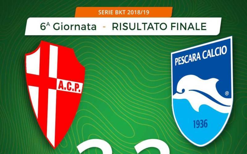 Padova Pescara 2-2