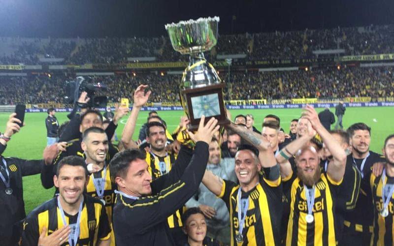 Penarol Campione d'Uruguay 2018 Twitter Penarol