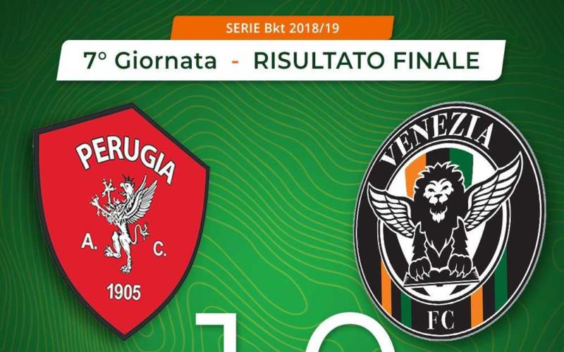 Perugia Venezia 1-0