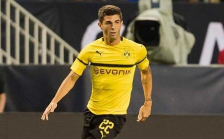 Pulisic Twitter uff Borussia Dortmund