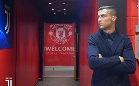Ronaldo Old Trafford Foto Juventus Twitter