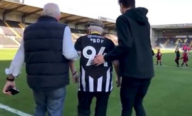 Roy tifoso Notts County Facebook
