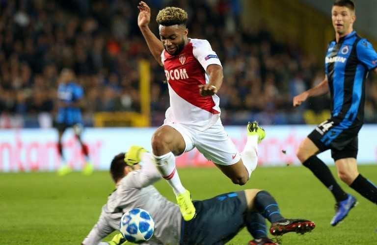 Sylla Monaco vs Brugge Foto Sportpesa
