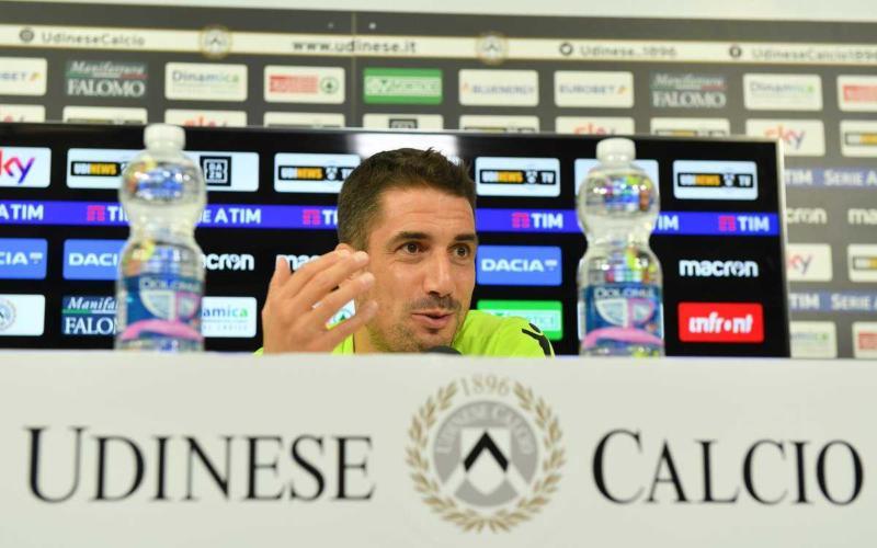 Velazquez Julio conferenza Udinese Twitter