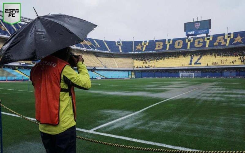 Boca Juniors-River Plate Bombonera ESPN Argentina Twitter