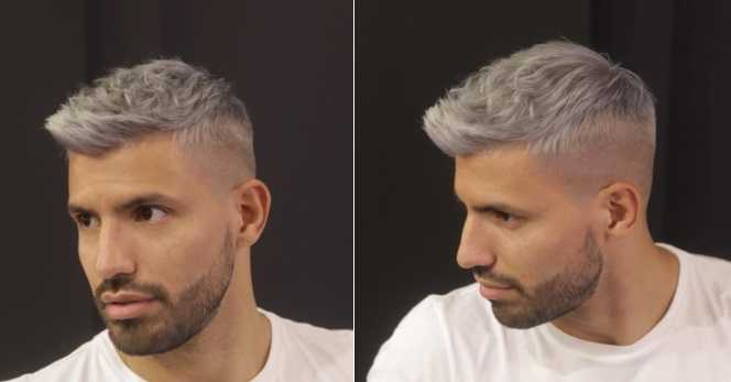 Aguero nuovo look Twitter personale