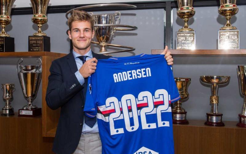 Andersen Twitter uff Samp