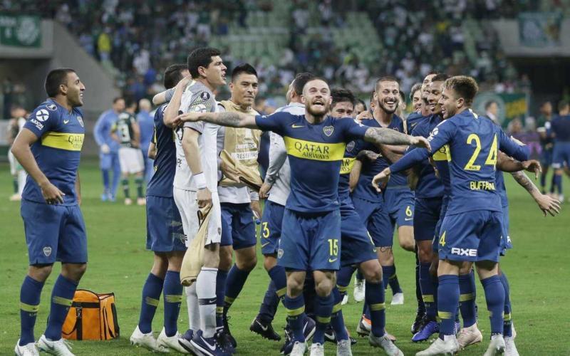 Boca vs Palmeiras semifinale Libertadores Foto Boca Twitter