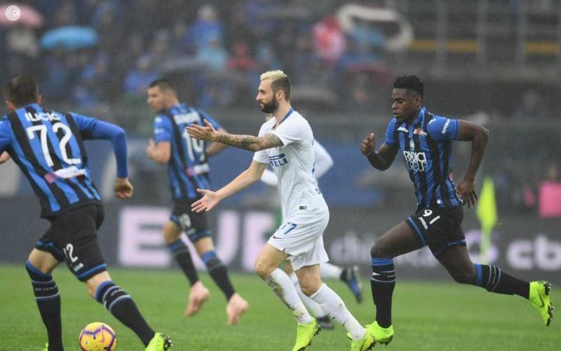 Brozovic vs Atalanta Foto Inter Twitter