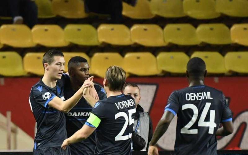 Brugge vs Monaco Foto Brugge Twitter