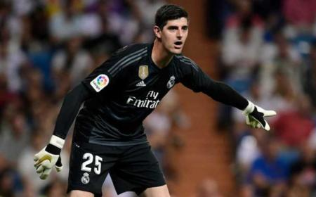 Courtois Real Madrid Foto Marca
