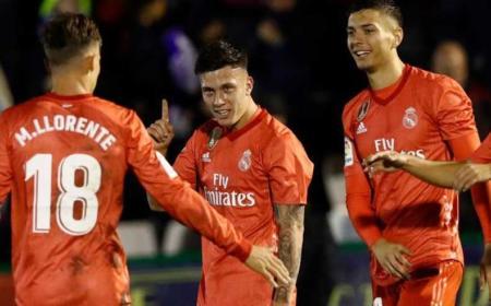 Cristo Gonzalez esultanza Real Madrid Twitter