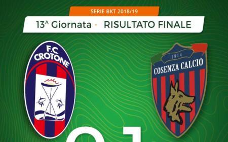 Croton Cosenza 0-1 Idda