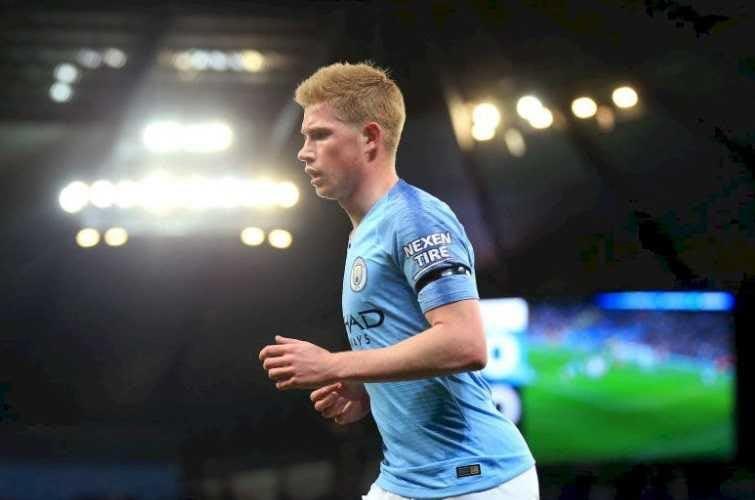 De Bruyne 18-19 Manchester City sito ufficiale