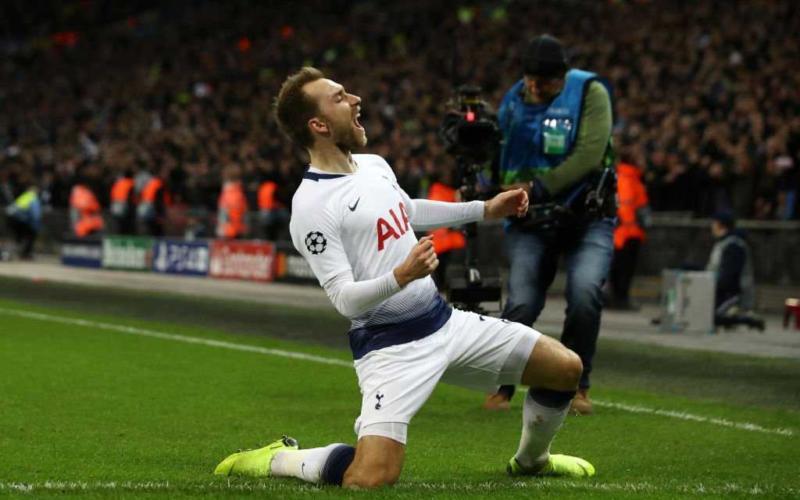 Eriksen Tottenham Twitter