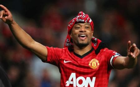 Evra Manchester United Foto Daily Star