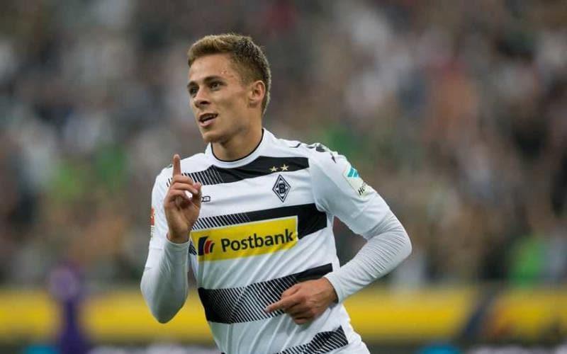 Hazard Thorgan Borussia Monchengladbach Foto Numero Diez